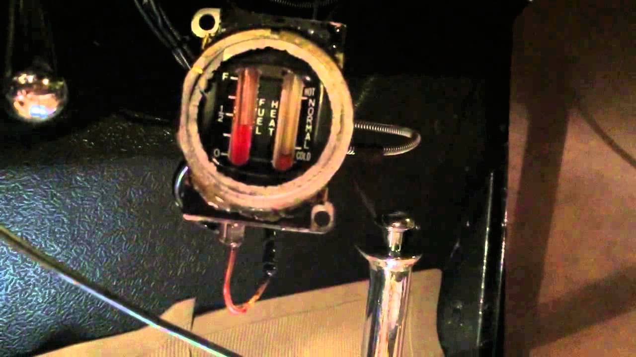 1932 Ford Fuel Gauge Youtube