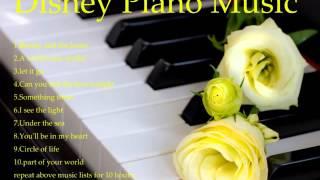 10hours Disney Piano Music 10시간 디즈니 피아노 음악