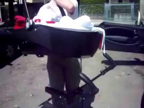 How I Put My Baby In Mini Cooper