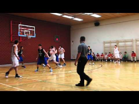 Basketball U18 Wien Union Döbling vs Timberwolves 1  Hälfte HD