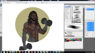 Comic Book Coloring Tutorial - Color Update
