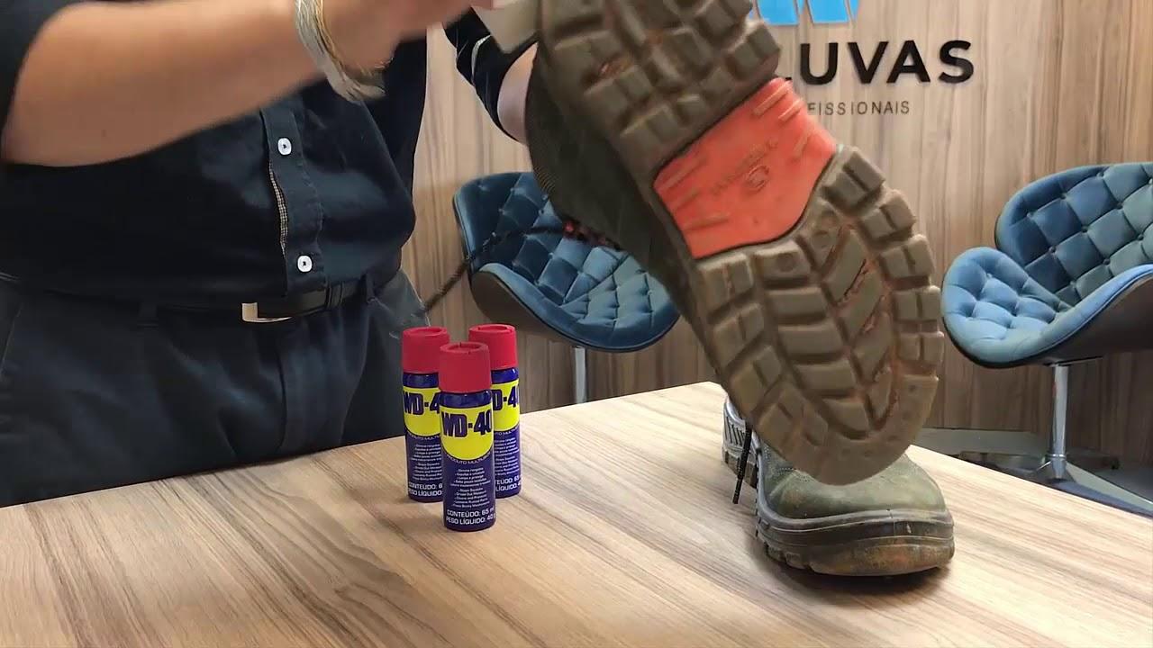 255dae8d476 Como limpar seu calçado Marluvas Premier - YouTube