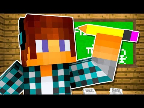 Minecraft - ESCOLA MINECRAFT #03( Minecraft School )
