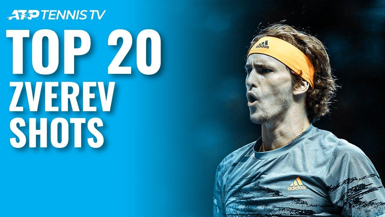 Alexander Zverev S Top 20 Best Atp Tennis Shots Youtube