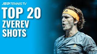 Alexander Zverev's Top 20 Best Atp Tennis Shots