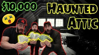 One of DMasterFlex's most viewed videos: Last to LEAVE the Haunted Attic WINS $10,000!!!!!