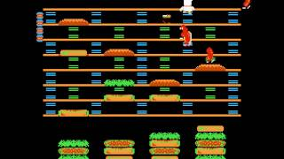 NES Longplay [312] BurgerTime