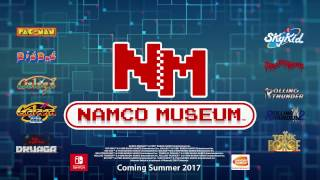 NAMCO MUSEUM - Announcement Trailer | Nintendo Switch