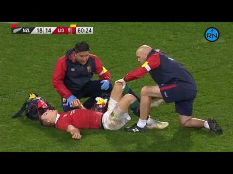British Irish Lions Attacking Structure - Dual Ball Handlers - Jonathan Sexton, Owen Farrell