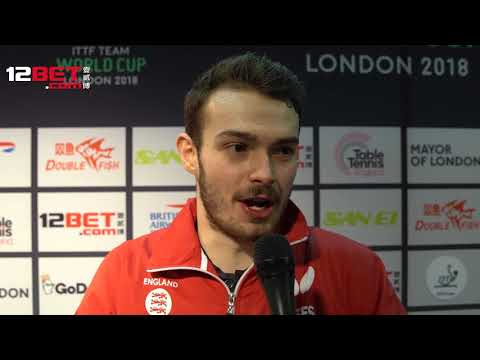 Sam Walker talks Ma Long and looking ahead to the Commonwealth Games