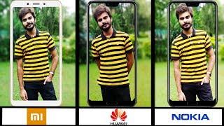 Xiaomi Mi A2 Vs Nokia 6.1 Plus Vs Huawei P20 Lite | The Ultimate Camera Comparison | Camera Test