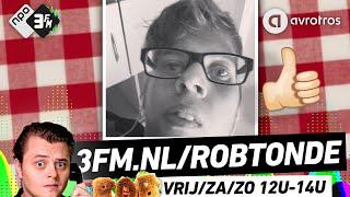 🍞ROB// De Robtonde - Isaak wil zichzelf op de Robtonde! #3FM