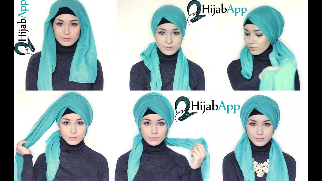 Hijab Turban 2 Hijab Tutorials L Turban Youtube