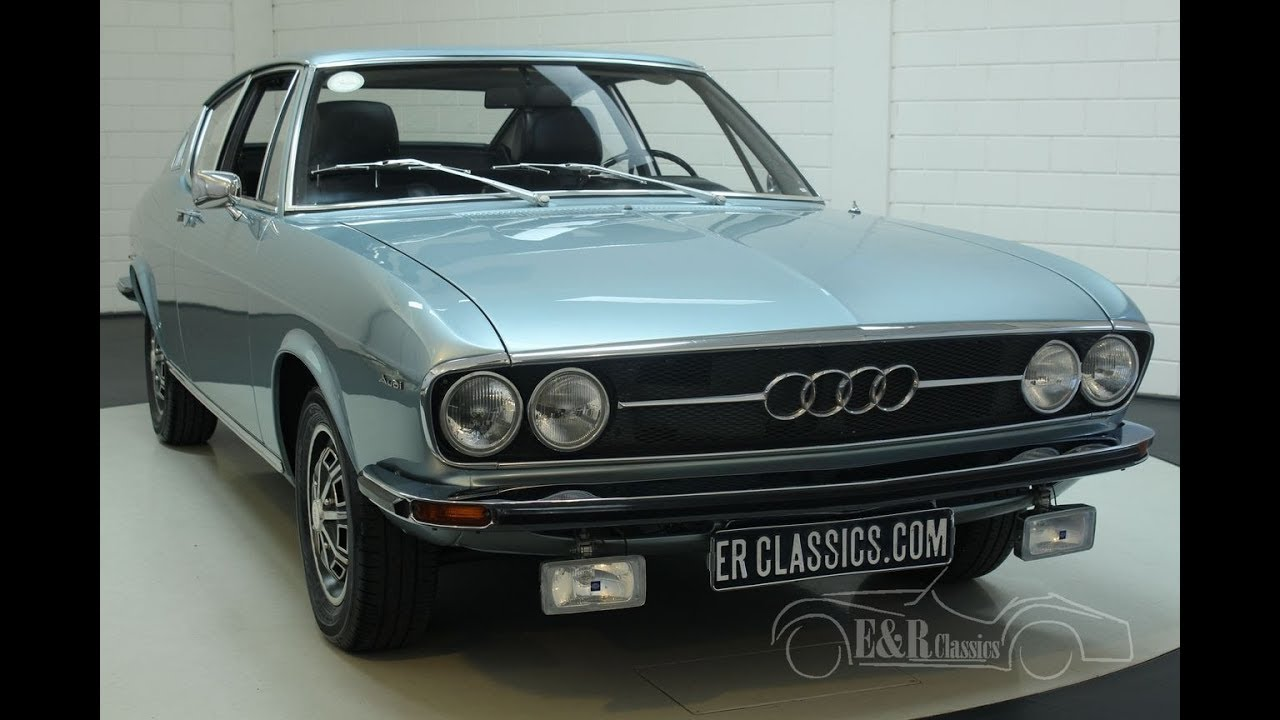 Garage Audi Lille Audi 100 S Coupe 1972 Video Erclassics