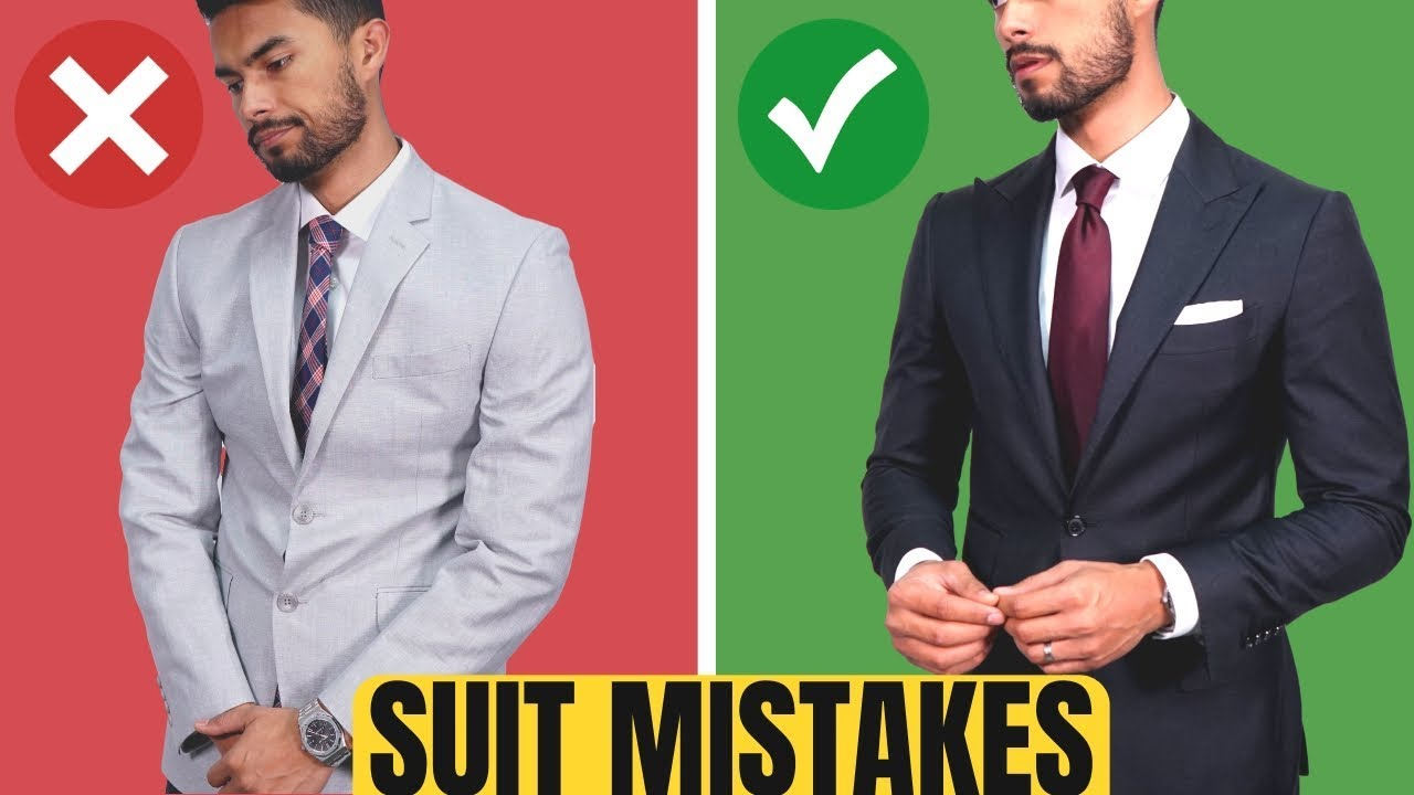 Download 10 ROOKIE Suit Mistakes Men Make (And How To Fix Them)