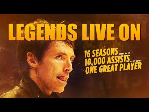 Legends Live On :: Steve Nash Career Mix [1080p]