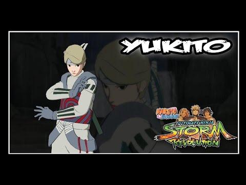 Naruto Shippuden: Ninja Storm Revolution - Jinchuuriki DLC Pack - YUGITO // Moveset