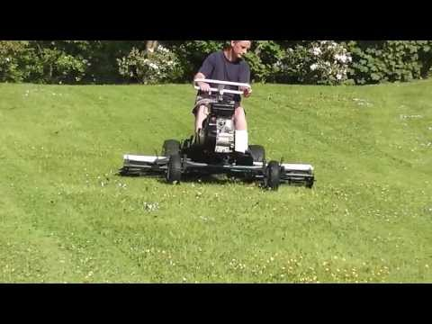 Demonstration of 68 inch National Triple Mower