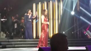 KC Concepcion and Karla Estrada at ABS-CBN Christmas Special 2015