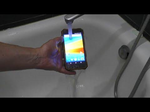 DEXP Ixion P350 Waterproof Test