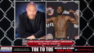 Frank Trigg pre-fight interview with Bellator 182's Chidi Njokuani