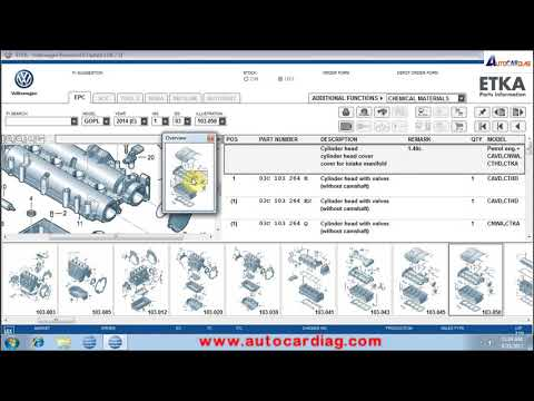 ETKA 8 2017 ETKA 8.0 download Electronic Parts Catalogue user guide