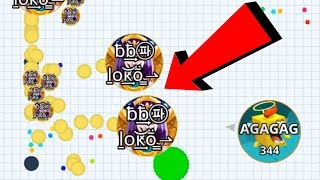 Agar.io Pro Solo vs Intense Team Battle Wins/Fails Compilation Mobile Best Moments Gameplay