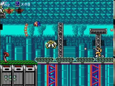Let's play Contra : Legacy of Red Falcon PC