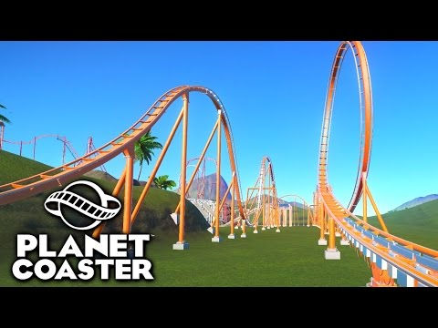 BUILDING A 9+ EXCITEMENT COASTER? - PLANET COASTER #20