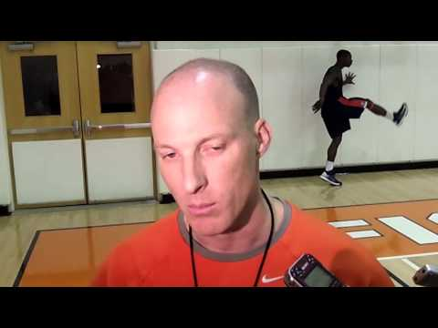 Coach Groce Interview 10/18