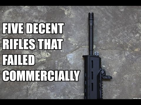 Five Decent Rifles That Failed Commercially