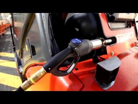 Pistolet GPV14 Staubli pour les véhicules GPLc