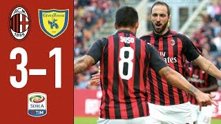 Highlights AC Milan 3-1 ChievoVerona - Matchday 8 Serie A 2018/2019