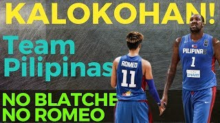 Team Gilas Pilipinas 20-Man Pool ni Yeng Guiao: Tama bang walang Blatche at Romeo?