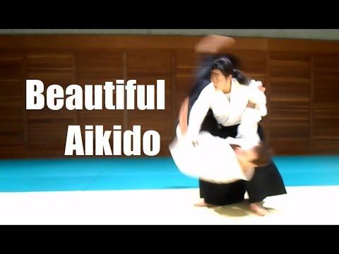 Strong and Beautiful Aikido Part 2 - Hiromi Matsuoka 4 dan