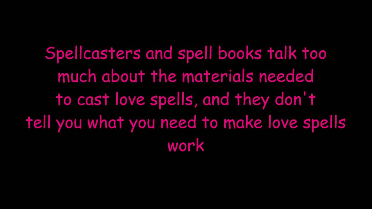 EXPOSED The Truth About Love Spells That Work