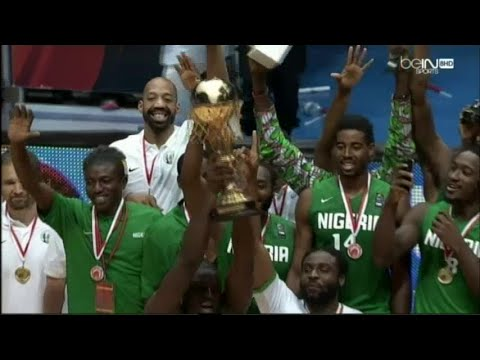 Match Complet Afrobasket Tunisia 2015 Finale Angola 65-74 Nigeria 30-08-2015