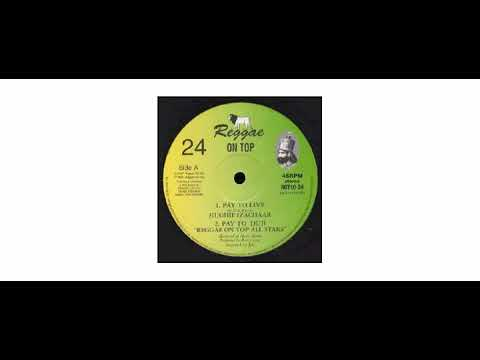 "Hughie Izachaar - Pay To Live / My Life - 10"" - Reggae On Top"