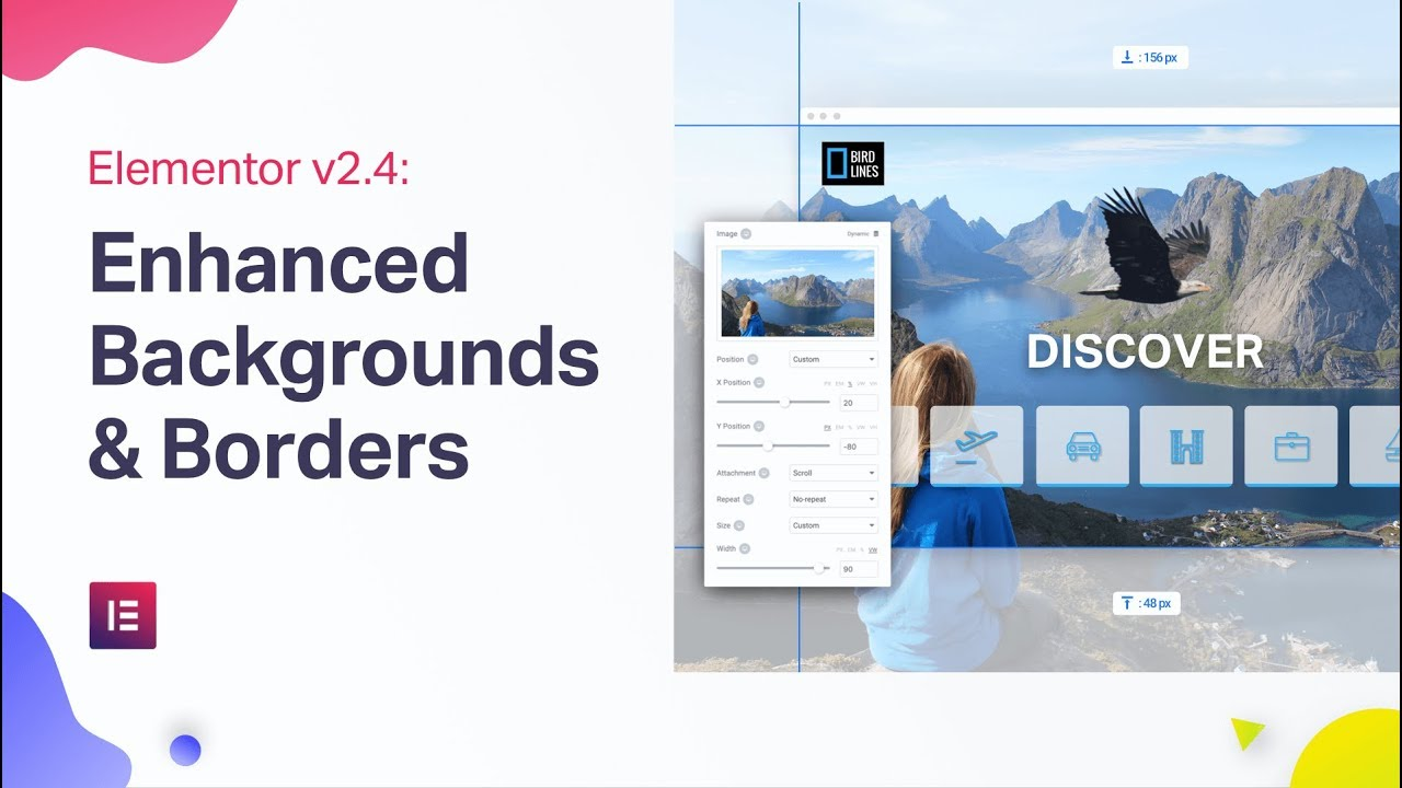 Elementor v2 4: Responsive Background Image, Custom Settings and More