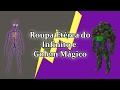 Roupa Etérea do Infinito, Golem Mágico e Tubarão Furioso
