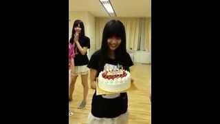 HKT48草場愛[ゆうたんの誕生日!]
