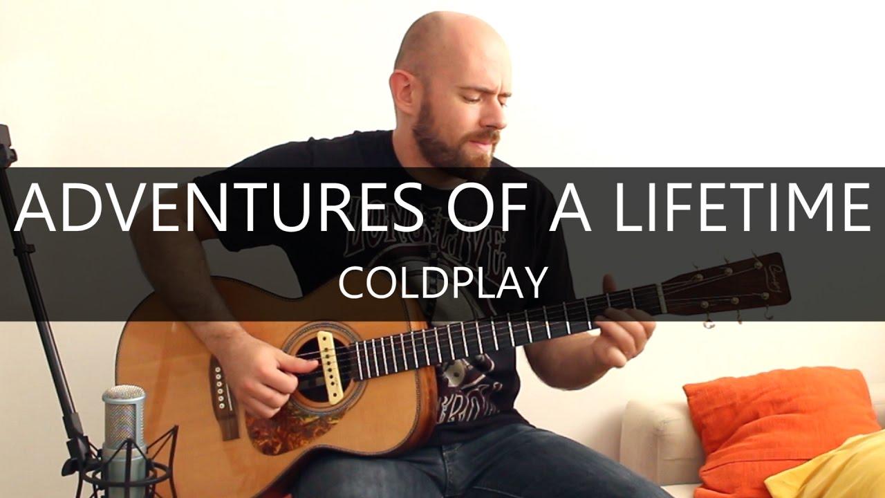 Como Tocar Adventure Of A Lifetime (Coldplay) En Guitarra ...