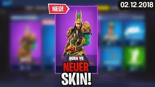 FORTNITE SHOP from 2.12 - 👹 NEW SKIN! 🛒 Fortnite Daily Shop (from Today) (02 December 2018) | Detu