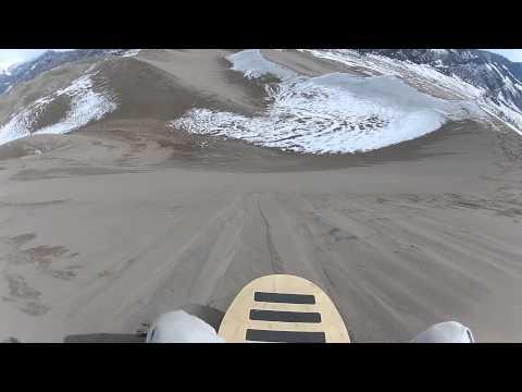 Great Sand Dunes National Park - Sand Sledding Star Dune or High Dune