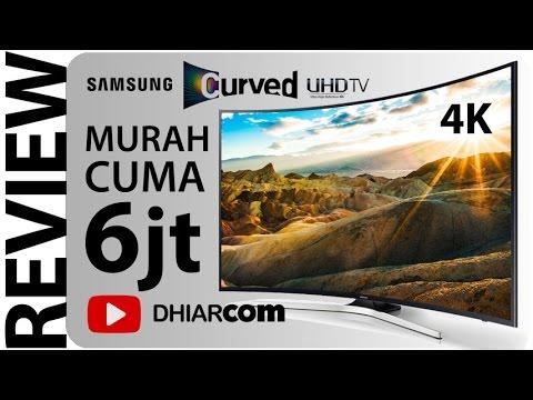 TV 4K MELENGKUNG CUMA 6JT-AN, Samsung 40 Curved UHDTV KU6300