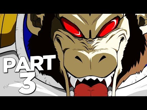 DRAGON BALL Z KAKAROT Walkthrough Gameplay Part 3 - GOHAN GREAT APE BOSS (FULL GAME)