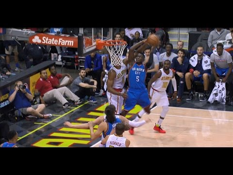 Victor Oladipo HAMMERS the Two-Handed Monster Dunk | 12.05.16