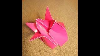 СДЕЛАТЬ ТЮЛЬПАН ИЗ БУМАГИ СВОИМИ РУКАМИ. ПОДЕЛКИ ИЗ БУМАГИ. ОРИГАМИ ЦВЕТЫ.Origami(СДЕЛАТЬ ТЮЛЬПАН ИЗ БУМАГИ СВОИМИ РУКАМИ . ОРИГАМИ ЦВЕТЫ. Origami., 2014-09-07T18:17:12.000Z)