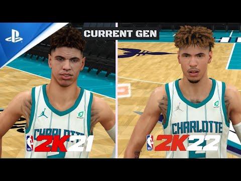NBA 2K22 vs NBA 2K21 CURRENT GEN  COMPARISON (PS4) Menu, Park, Graphics