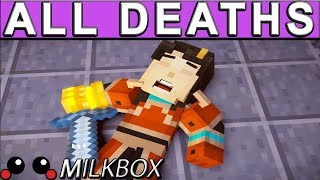 Minecraft: Story Mode Season 2 (EP5) ALL DEATH SCENES